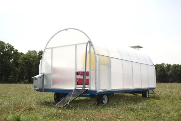 Mobile Chicken House Model 300 1