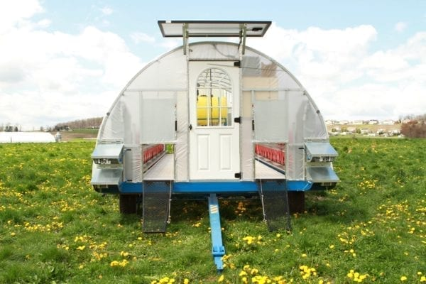 Mobile Chicken House Model 650 3