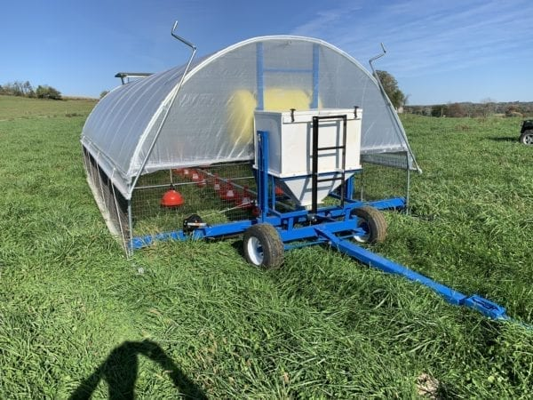 Mobile Range Coop [Broilers] Model 600 3