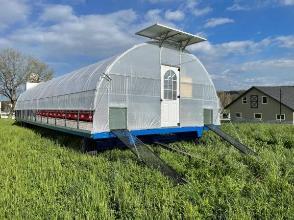 Mobile Chicken House Model 1200 1